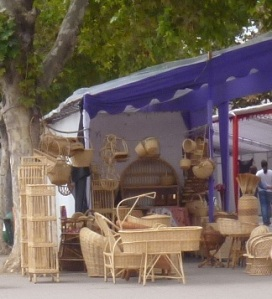 wicker mimbres stall