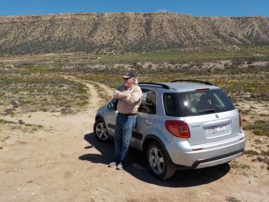 Black Mesa, AZ, moved to the edge of the Atlantic.
