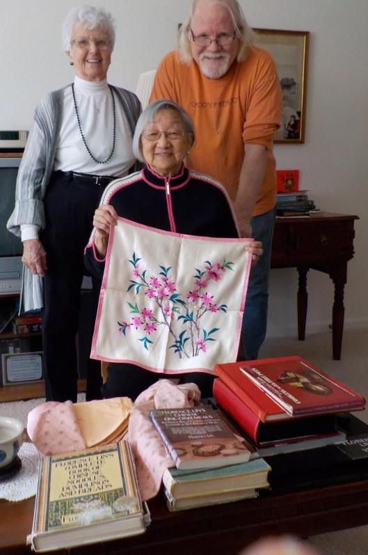 L-R: Jeanne Creamer, Florence Lin, Jonathan Haas