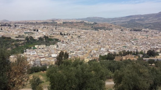 4.9.16 Fes medina from Borj sur