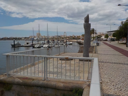 Riverfront in Portimao.