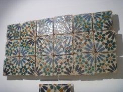 This is Portuguese tile made to look like a mosaic.