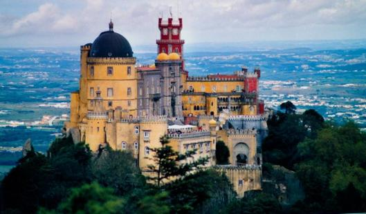 Palacio da Pena, Portugal-General view of the castle