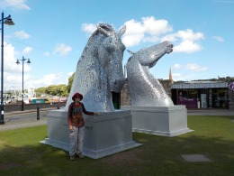 Kirkudbright has kelpies.