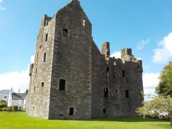 8.8.16 McClellan castle Kirkudbright