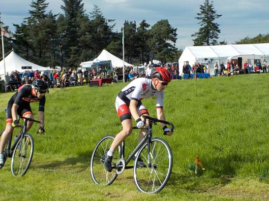 Bicycle races (on grass!)