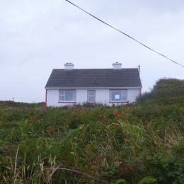 8.18.17 houses along the road Rossbeg