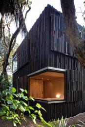 futuristic beach house nz